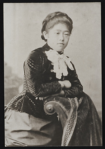 Tsuda Ume at Bryn Mawr Colllege in 1889