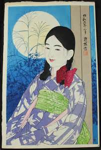 Ito Shinsui Autumn Full Moon