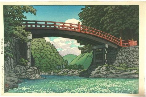 Kawase_Hasui-Spring-Kamibashi_Bridge_at_Nikko-00027147-051030-F12